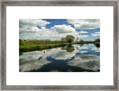 Exeter Canal Framed Print