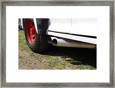 Exhausted Framed Print by Nick Kirby