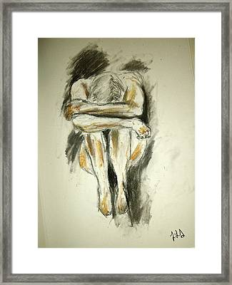 Exhaustion Framed Print by Jessica Sanders