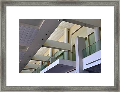 Framed Print featuring the photograph Exhibit Hall - Savannah by Ludwig Keck