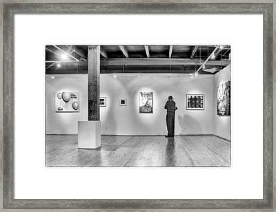 Exhibition Framed Print