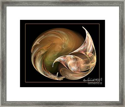 Exhilarate Framed Print by Leona Arsenault