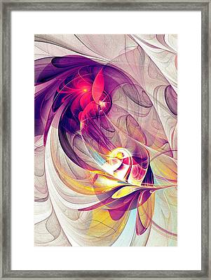 Exhilarated Framed Print