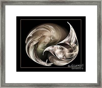 Exhilarted Framed Print by Leona Arsenault