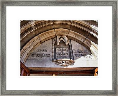 Exhortation Framed Print by Glenn McCarthy Art and Photography