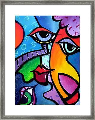 Exhuberant Framed Print by Tom Fedro - Fidostudio