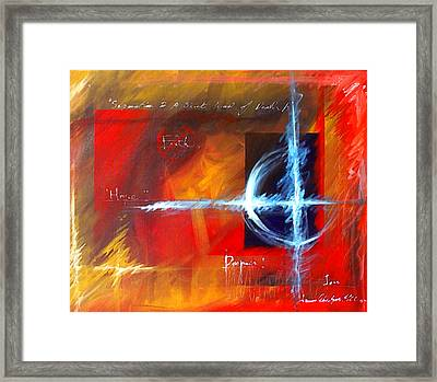 Exile Framed Print by James Christopher Hill