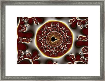Exiled Mandelbrot No. 8 Framed Print by Mark Eggleston