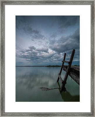 Exit Framed Print by Davorin Mance