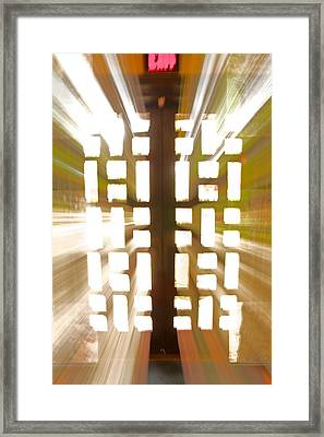 Exit Doors Framed Print by Stuart Litoff