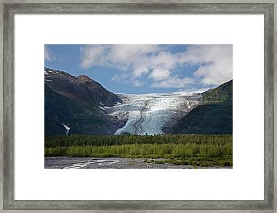 Exit Glacier Framed Print