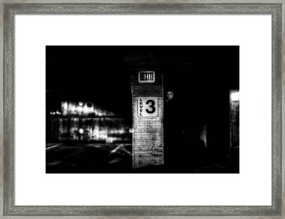 Exit Level 3 Framed Print by Bob Orsillo