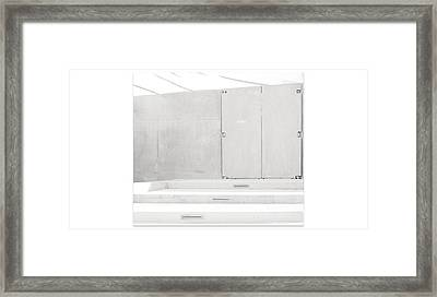 Exit Only Framed Print by Darryl Dalton