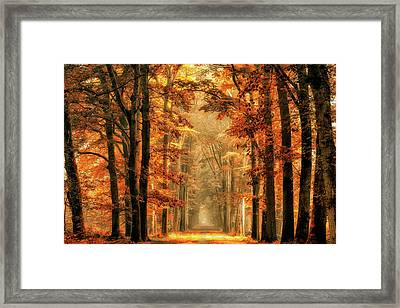 Exit The Portal Framed Print