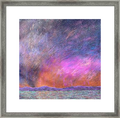 Exodus 13 21 Framed Print by J Michael Orr