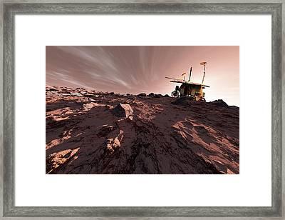 Exomars Rover Framed Print