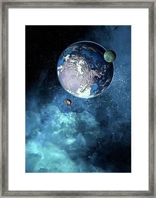 Exoplanet Framed Print