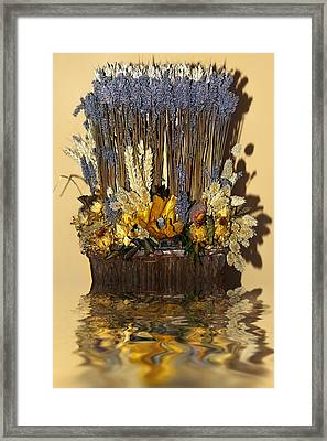 Exotic Bouquet Framed Print by Svetlana Sewell