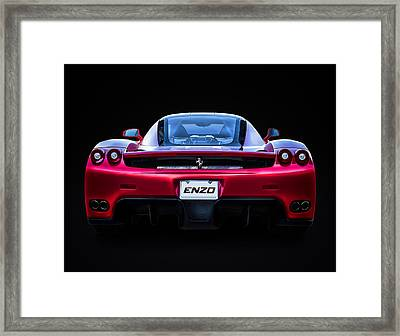Exotic Ferrari Enzo Framed Print by Douglas Pittman