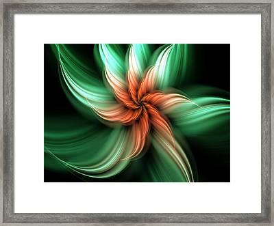 Exotic Flower Framed Print