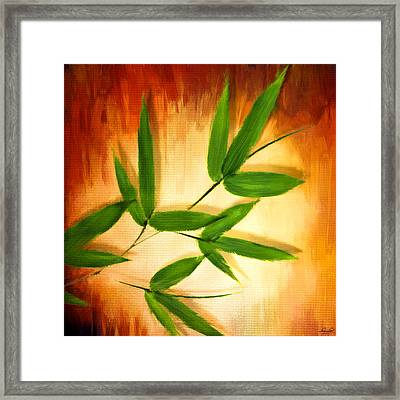 Exotic Grace Framed Print by Lourry Legarde