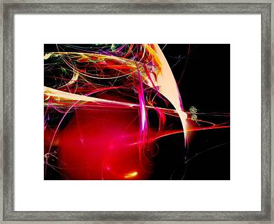 Exotic New Worlds Framed Print