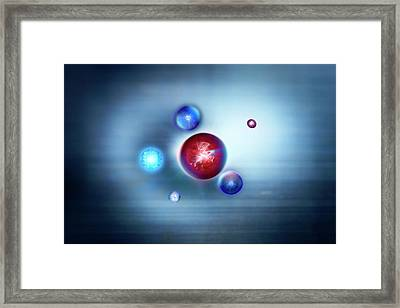 Exotic Particles Framed Print