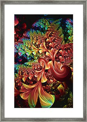 Exotic Plant Life Framed Print by Lea Wiggins