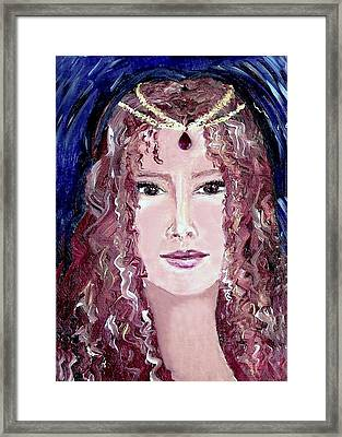 Exotic Ruby Framed Print by Robin Monroe