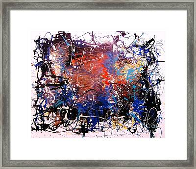Exotic Zone Framed Print by Roberto Prusso