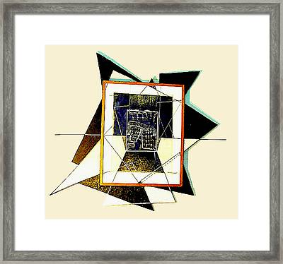 Expanding Graphic Framed Print by Al Goldfarb