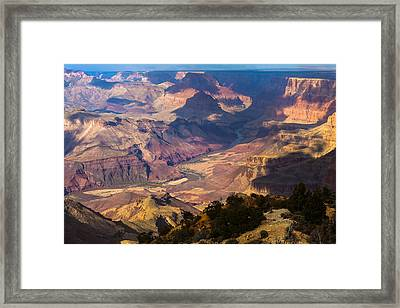 Expanse At Desert View Framed Print