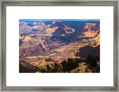 Expanse At Desert View Framed Print