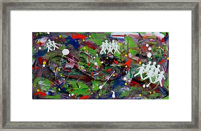 Expansion Framed Print by Ann Laase Bailey