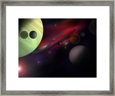Expansion Framed Print by Ricky Haug