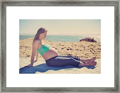 Expectant Framed Print by Laurie Search