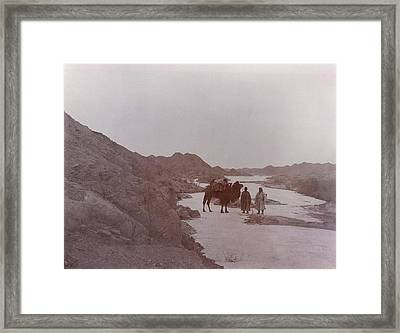 Expeditionaries At Toghrak-bulak Framed Print