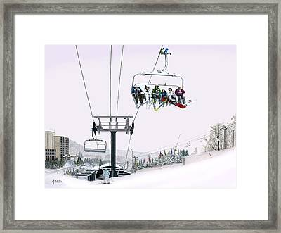 Experience Seven Springs Framed Print