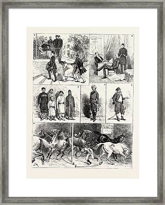 Experiences Of A British Officer Of The Gendarmerie In Egypt Framed Print by Egyptian School