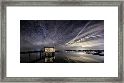 Explode Framed Print by Brad Scott