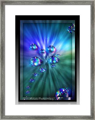 Framed Print featuring the photograph Exploded Universe by Michaela Preston