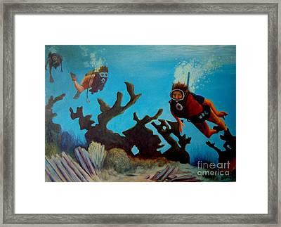 Exploration Framed Print by John Malone