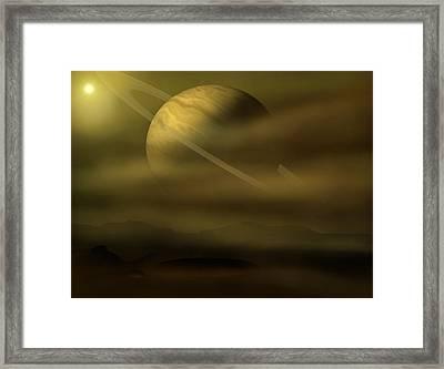 Exploration Framed Print by Ricky Haug