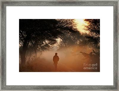 Explorer The Nature Framed Print by Manjot Singh Sachdeva