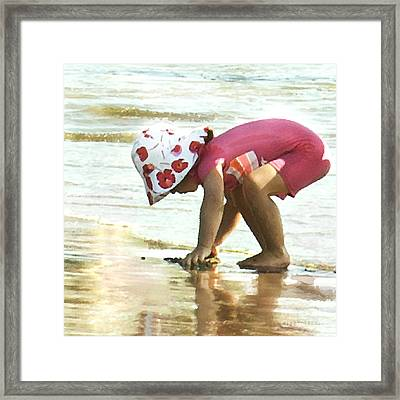 Exploring Framed Print by Artist and Photographer Laura Wrede