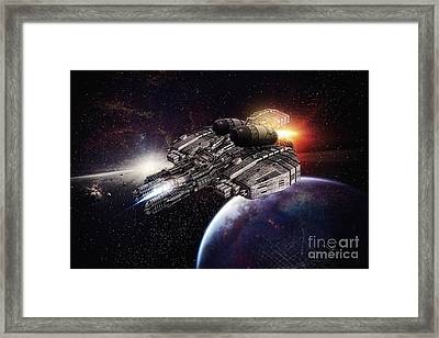 Exploring Framed Print by Mo T