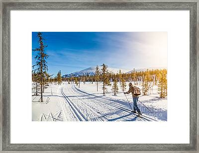 Exploring Scandinavia Framed Print