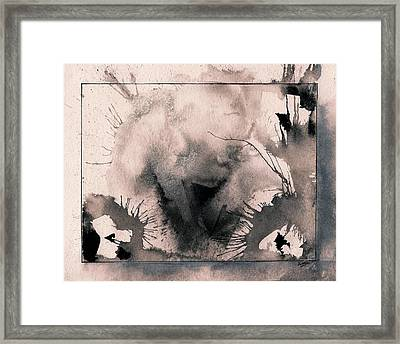 Explosion Framed Print by Marc Philippe Joly