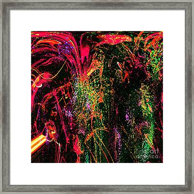 Explosion Of Desire Framed Print by Ashantaey Sunny-Fay