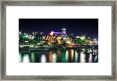 Explosive Framed Print by Rob Sellers